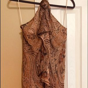 Lauren Ralph Lauren dress. 100 % silk. Size 8